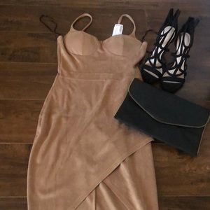 Love Culture brand new (with tags) suede dress